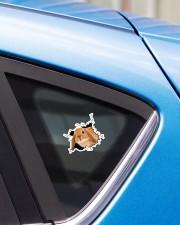 Bunny Crack Sticker - Single (Horizontal) aos-sticker-single-horizontal-lifestyle-front-27