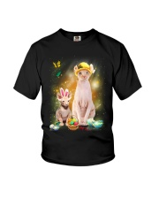 Sphynx Cat Happy Easter Day 190304 Youth T-Shirt thumbnail