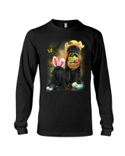 Portuguese Water Dog Happy Easter Day 130312 Long Sleeve Tee thumbnail