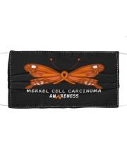 MERKEL CELL CARCINOMA AWARENESS Cloth face mask thumbnail