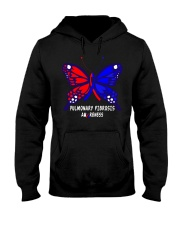 PULMONARY FIBROSIS AWARENESS Hooded Sweatshirt thumbnail