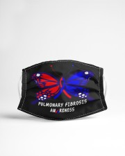 PULMONARY FIBROSIS AWARENESS Cloth face mask aos-face-mask-lifestyle-22