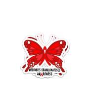 WEGENERS GRANULOMATOSIS AWARENESS Sticker - 2 pack (Horizontal) thumbnail