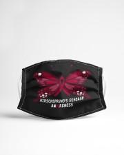 HIRSCHSPRUNG'S DISEASE AWARENESS Cloth face mask aos-face-mask-lifestyle-22