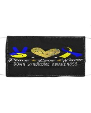 down syndrome awareness Cloth face mask front