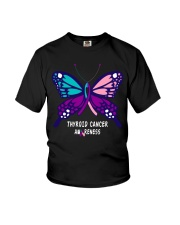 THYROID CANCER AWARENESS Youth T-Shirt thumbnail
