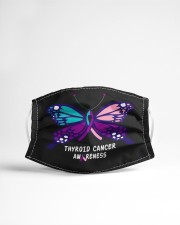 THYROID CANCER AWARENESS Cloth face mask aos-face-mask-lifestyle-22