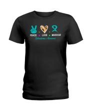 scleroderma awareness Ladies T-Shirt thumbnail