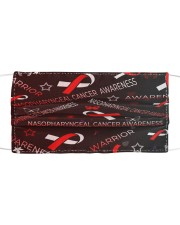 NASOPHARYNGEAL CANCER AWARENESS Cloth face mask front