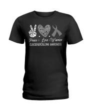 OLIGODENDROGLIOMA AWARENESS Ladies T-Shirt thumbnail