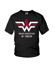 BRAIN ANEURYSM WARRIOR Youth T-Shirt tile