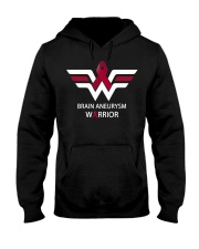 BRAIN ANEURYSM WARRIOR Hooded Sweatshirt tile