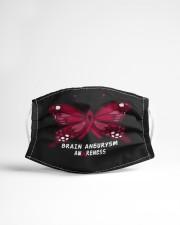 BRAIN ANEURYSM AWARENESS Cloth face mask aos-face-mask-lifestyle-22