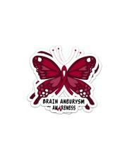 BRAIN ANEURYSM AWARENESS Sticker - 2 pack (Horizontal) thumbnail