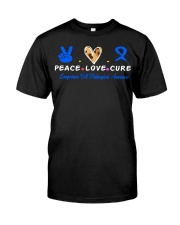 LCH awareness peace love cure Classic T-Shirt thumbnail