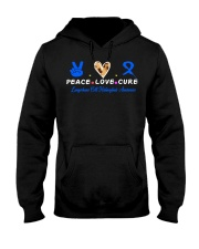LCH awareness peace love cure Hooded Sweatshirt thumbnail