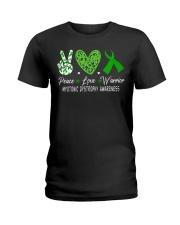 MYOTONIC DYSTROPHY AWARENESS Ladies T-Shirt thumbnail