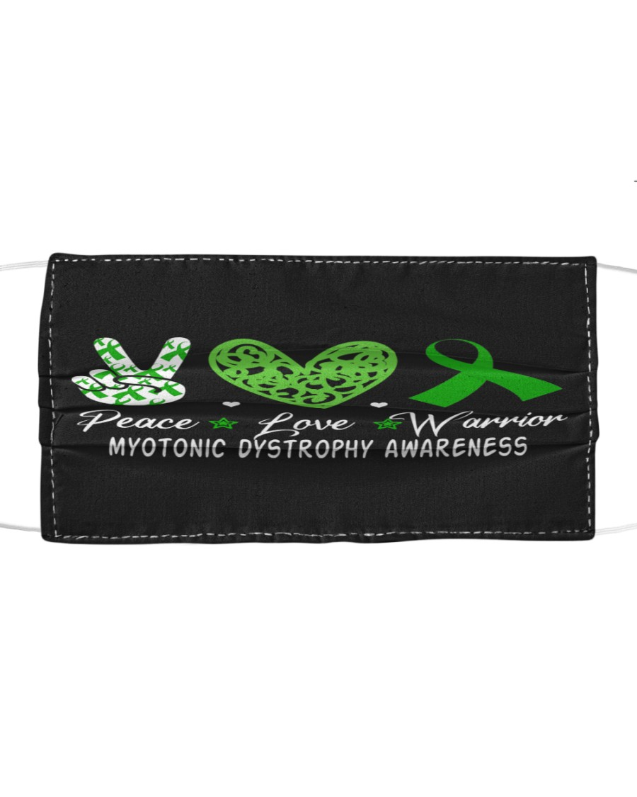 MYOTONIC DYSTROPHY AWARENESS Cloth face mask