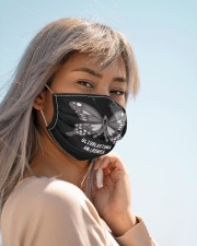 GLIOBLASTOMA AWARENESS Cloth face mask aos-face-mask-lifestyle-19