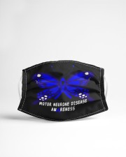 MOTOR NEURONE DISEASE AWARENESS Cloth face mask aos-face-mask-lifestyle-22