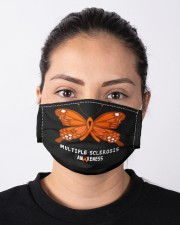 MULTIPLE SCLEROSIS AWARENESS Cloth face mask aos-face-mask-lifestyle-01