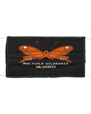 MULTIPLE SCLEROSIS AWARENESS Cloth face mask front