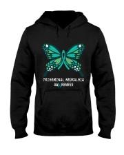 TRIGEMINAL NEURALGIA AWARENESS Hooded Sweatshirt thumbnail