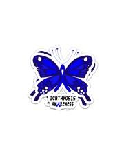 ICHTHYOSIS  AWARENESS Sticker - 2 pack (Horizontal) thumbnail