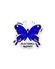 GALACTOSEMIA AWARENESS Sticker - 2 pack (Horizontal) thumbnail
