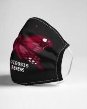 AMYLOIDOSIS AWARENESS Cloth face mask aos-face-mask-lifestyle-21