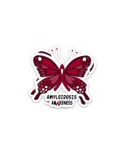 AMYLOIDOSIS AWARENESS Sticker - 2 pack (Horizontal) thumbnail