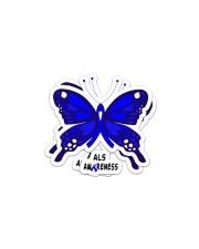 ALS  AWARENESS Sticker - 2 pack (Horizontal) thumbnail