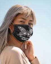 RETINOBLASTOMA AWARENESS Cloth face mask aos-face-mask-lifestyle-19