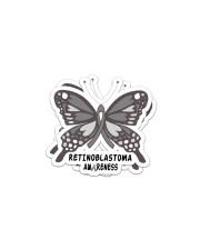 RETINOBLASTOMA AWARENESS Sticker - 2 pack (Horizontal) thumbnail