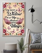 I'm Not A Widow I'm Wife To A Husband With Wings 11x17 Poster lifestyle-poster-1