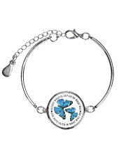 Butterfly Metallic Circle Bracelet thumbnail