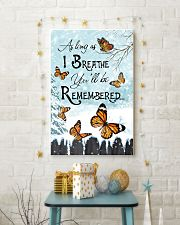 As Long As I Breathe You'll Be Remembered 11x17 Poster lifestyle-holiday-poster-3