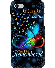 As Long As I Breathe You'll Be Remembered Phone Case i-phone-8-case