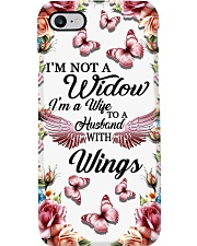 I'm Not A Widow I'm Wife To A Husband With Wings Phone Case thumbnail