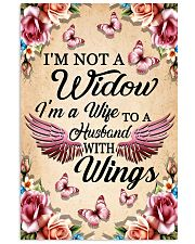 I'm Not A Widow I'm Wife To A Husband With Wings 11x17 Poster thumbnail