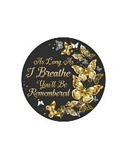 As Long As I Breathe You'll Be Remembered Circle Cutting Board thumbnail