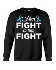 Her Fight Is My Fight Crewneck Sweatshirt thumbnail