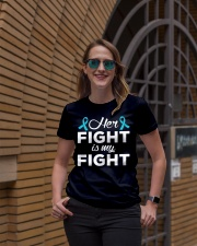 Her Fight Is My Fight Ladies T-Shirt lifestyle-women-crewneck-front-2