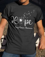 Lung Cancer Awareness Classic T-Shirt apparel-classic-tshirt-lifestyle-28