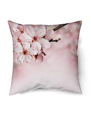 "Cherry Bloom Home living Indoor Pillow - 16"" x 16"" thumbnail"