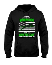 Arctic Cat - Snowmobile Hooded Sweatshirt thumbnail