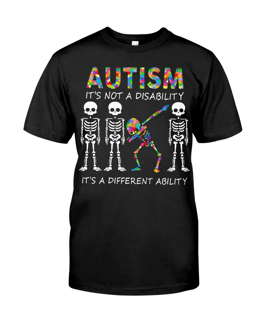 Autism It's NOT A DISABILITY Premium Fit Mens Tee