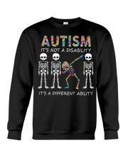 Autism It's NOT A DISABILITY Crewneck Sweatshirt thumbnail