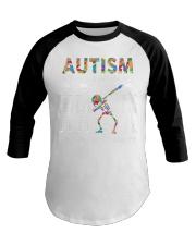 Autism It's NOT A DISABILITY Baseball Tee thumbnail