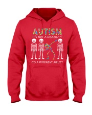 Autism It's NOT A DISABILITY Hooded Sweatshirt thumbnail
